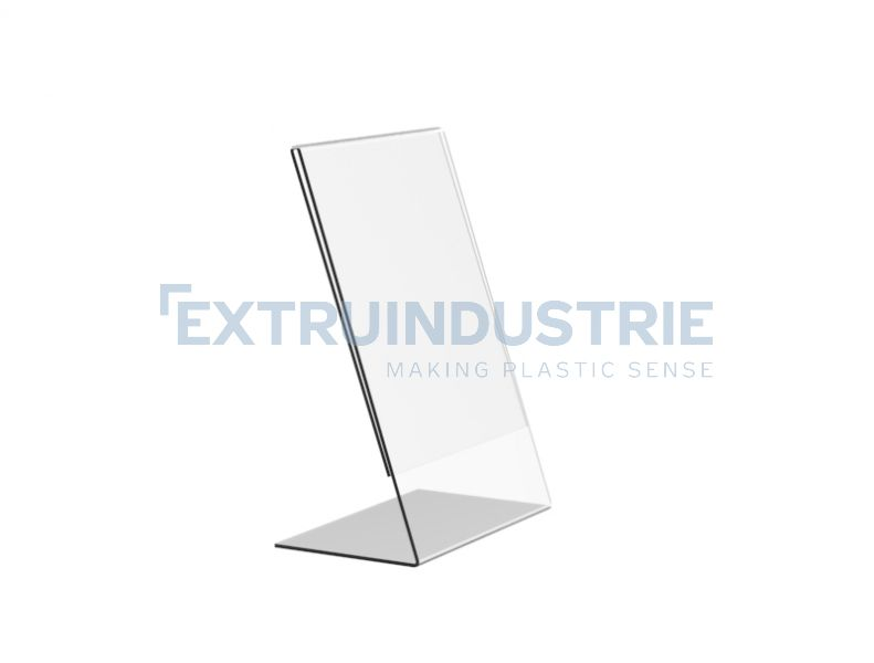 Acrylic L-Display vertical