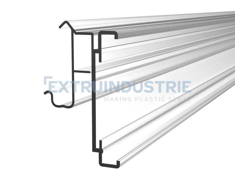 ESL profile for Cefla shelves with soft hinge
